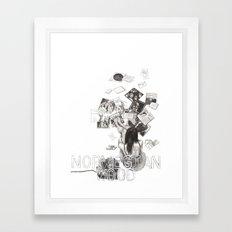 Norwegian Wood Film Poster Framed Art Print