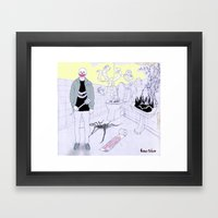 Payaso Framed Art Print