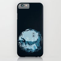 iPhone & iPod Case featuring Kodamas by le.duc
