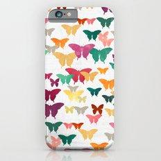 Butterflies & moths iPhone 6 Slim Case