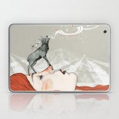 Deer Lady! Laptop & iPad Skin