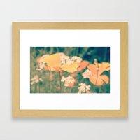 Orange Delight  Framed Art Print