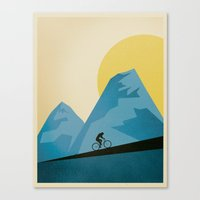 Mountain Trails Canvas Print
