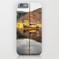 iPhone & iPod Case featuring Sailboat Reflections by jacqi
