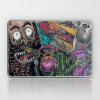 Sid Squish and the Death Collectors Laptop & iPad Skin