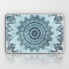 BOHOCHIC MANDALA IN BLUE Laptop & iPad Skin
