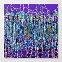 :: Purple Rain :: Canvas Print