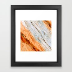 Marble Texture 2B Framed Art Print