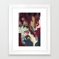 Fish House Punch Framed Art Print