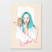 Shhh... Canvas Print