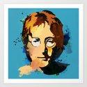 J.Lennon-theBEATLES Art Print