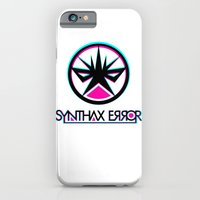 iPhone & iPod Case featuring Synthax Error by Rilke Guillén