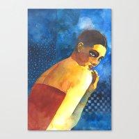 Bellezze Al Bagno Canvas Print