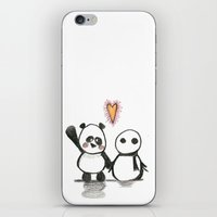 Love Is In The Air - Pan… iPhone & iPod Skin