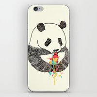 Panda Loves Ice Cream iPhone & iPod Skin