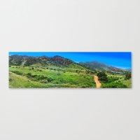 Mount Falcon Canvas Print