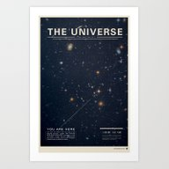 Art Print featuring The Universe by Mike Gottschalk