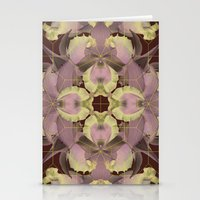 vintage orchid  Stationery Cards