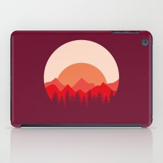 Red Mountains iPad Case