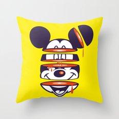 Defragmented!  Throw Pillow