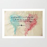 Tolstoy's Love Art Print