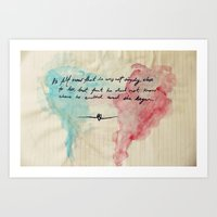 Tolstoy's Love Art Print
