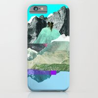 iPhone Cases featuring Experiment am Berg 8 by Marko Köppe