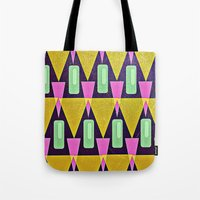 Velas pattern Tote Bag
