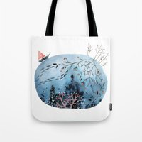 BRIDGES AND BALLOONS Tote Bag