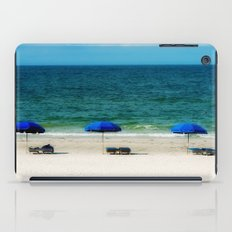 Beach Umbrella Trio iPad Case