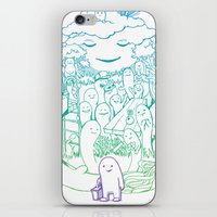 Absent Friends iPhone & iPod Skin