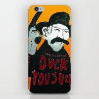 Duck you Sucker with James Coburn iPhone & iPod Skin