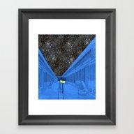 Life On The Outside Framed Art Print