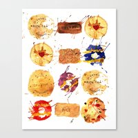 My Biscuits Canvas Print