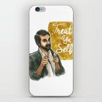 Treat yo self! iPhone & iPod Skin