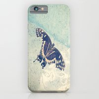 iPhone & iPod Case featuring Butterfly by Machiine