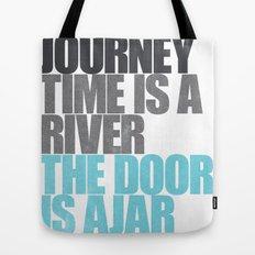 The Door is Ajar Tote Bag