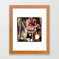 We heart you; but we have to SUBVERT you Framed Art Print