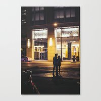 Late Nights Canvas Print