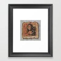 Burnt Sienna vs. Burnt Toast Framed Art Print