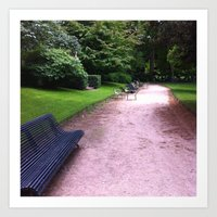 Paris Jardin Du Luxembou… Art Print
