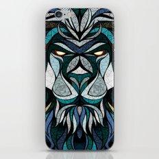 Blue Lion iPhone & iPod Skin
