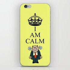 I AM CALM iPhone & iPod Skin