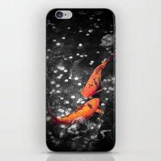 Lucky Koi Fountain iPhone & iPod Skin