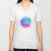 Abstract 02 Unisex V-Neck