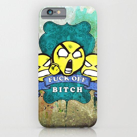Fuck Off iPhone & iPod Case