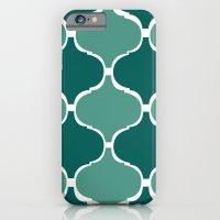 Marrakech Pattern Dark Green iPhone 6 Slim Case