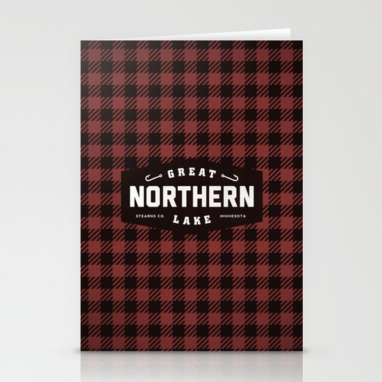 Great Northern Lake Stationery Card