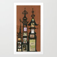 I Love You, Hundertwasse… Art Print
