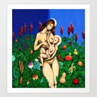 Faith & Soil Cycles  Art Print